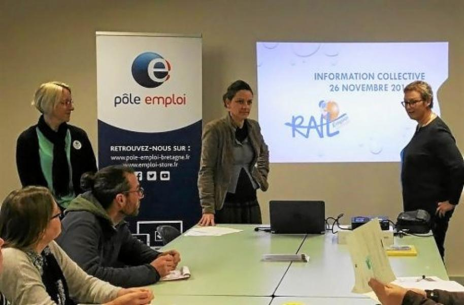 L'insertion avec RAIL EMPLOI Services